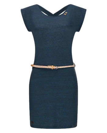 Ragwear Sommerkleid Sofia Dress II Sommerkleider blau Damen Gr. 36