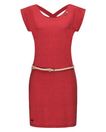 Ragwear Sommerkleid Sofia Dress II Sommerkleider rot Damen Gr. 40