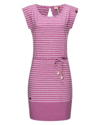 Ragwear Sommerkleid Soho Stripes Sommerkleider violett Damen Gr. 36