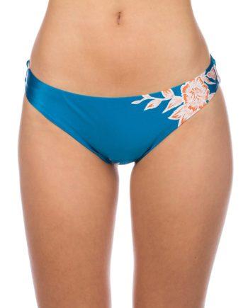Roxy Riding Moon Regular Bikini Bottom blau