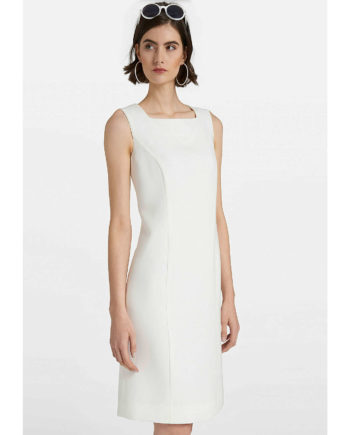 UTA RAASCH Kleid Ärmellos Sommerkleider offwhite Damen Gr. 46