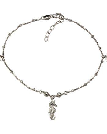Vivance Fußkette 925/- Sterling Silber rhodiniert