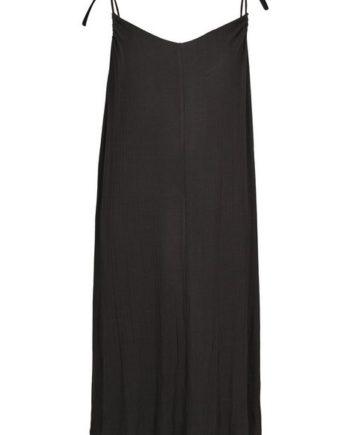 Zizzi Sommerkleid Große Größen Damen Lockeres Kleid mit schmalen justierbaren Trägern