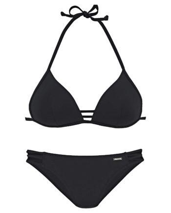 bruno banani Triangel-Bikini Bikinis schwarz Damen Gr. 40B