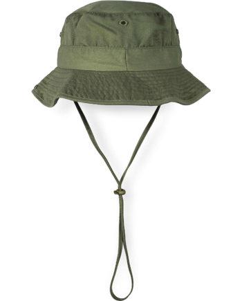 normani® Schlapphut mit Kinnband Sonnenhüte oliv Gr. 54-56