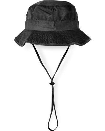 normani® Schlapphut mit Kinnband Sonnenhüte schwarz Gr. 54-56