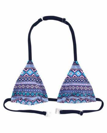 s.Oliver Beachwear Triangel-Bikini mit Ethno-Druck