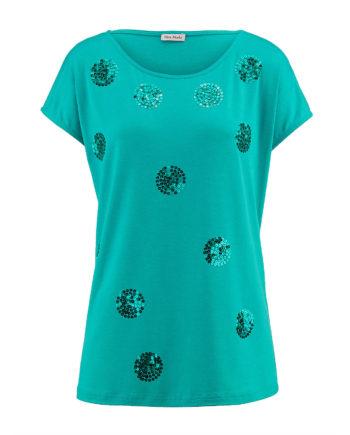 Alba Moda Shirt ohne arm Sommerkleider grün Damen Gr. 46
