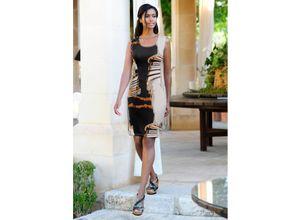 Alba Moda Strandkleid in Etuiform schwarz Damen Knielange Kleider