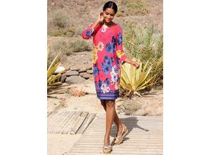 Alba Moda Strandkleid rosa Damen Freizeitkleider Kleider