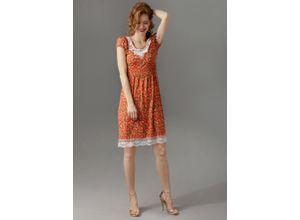 Aniston CASUAL Sommerkleid orange Damen Shirtkleider Kleider
