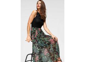 Aniston SELECTED Sommerkleid schwarz Damen Freizeitkleider Kleider