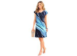 Arabella Strandkleid blau Damen Sommerkleider Kleider