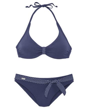 BUFFALO Bügel-Bikini Bikinis blau Damen Gr. 42B