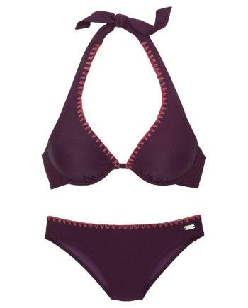BUFFALO Bügel-Bikini Bikinis lila Damen Gr. 44E