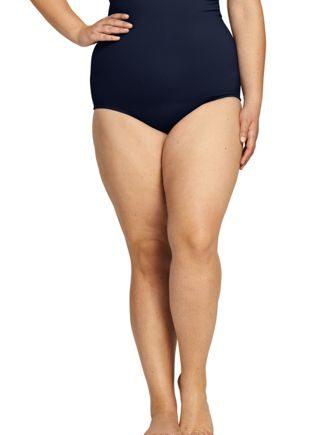 Beach Living Ultrahohe Bauchweg-Bikinihose in großen Größen - Plusgrößen