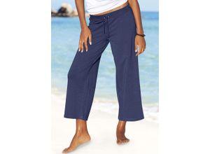 Beachtime 7/8-Strandhose blau Damen Strandhosen Strandmode Hosen
