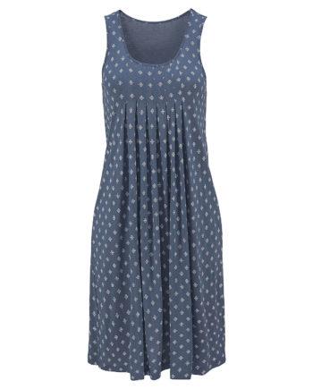 Beachtime Strandkleid Jerseykleider blau Damen Gr. 52
