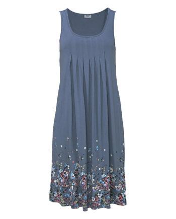 Beachtime Strandkleid Sommerkleider blau Damen Gr. 52