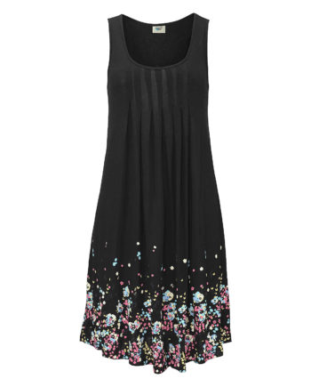 Beachtime Strandkleid Sommerkleider schwarz Damen Gr. 52