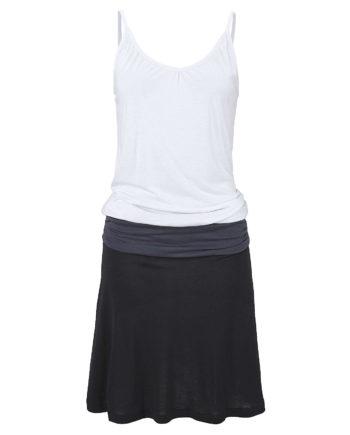 Beachtime Strandkleid Sommerkleider schwarz/grau Damen Gr. 38