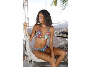 Bruno Banani Bügel-Bikini bunt Damen Bügel-Bikinis Bikinis Damenbademode Bikini-Sets