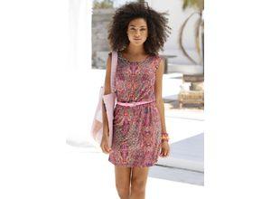Buffalo Sommerkleid rosa Damen Freizeitkleider Kleider