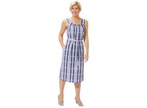 Classic Basics Kleid mit attraktiver Raffung grau Damen Sommerkleider Kleider