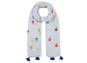 Codello Pareo aus Baumwolle mit Gelato-Print rosa Damen Modeschals Schals, Loops Tücher Accessoires