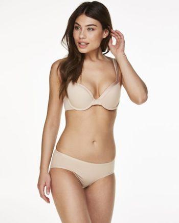 Hunkemöller Superslip-Rio Bikini baumwolle Beige