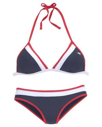 KangaROOS Triangel-Bikini Bikinis blau Damen Gr. 40A/B