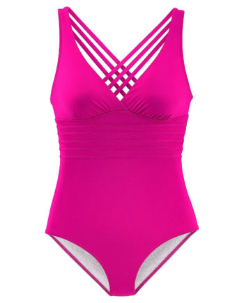 LASCANA Badeanzug Badeanzüge pink Damen Gr. 42D