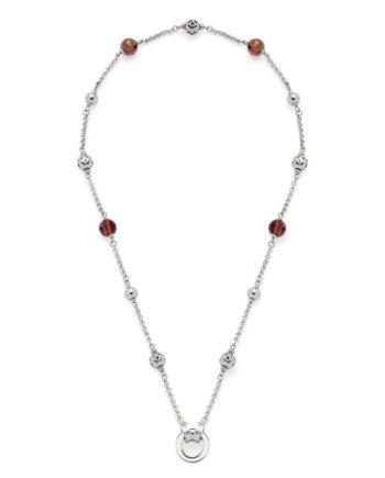 Leonardo Jewels Halskette 45 Sibilla Darlins, Kette, Kettchen, Schmuck, Edelstahl, Mehrfarbig, 45 cm