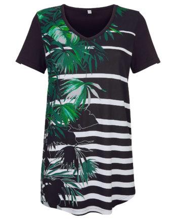 Maritim Strandshirt kurzarm Sommerkleider schwarz Damen Gr. 36/38