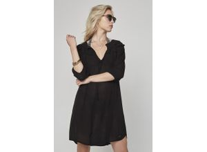 O'Neill Strandkleid mini Boho beach schwarz Damen Freizeitkleider Kleider