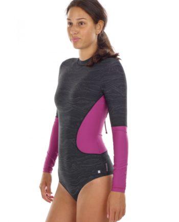O'Neill Swimsuit Badeanzug Swimwear schwarz Rash Guard Hyperdry Body