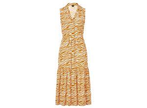 Reken Maar Blusenkleid orange Damen Sommerkleider Kleider