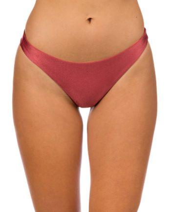 Rip Curl Mirage Essentials Cheeky Revo Bikini Bottom pink