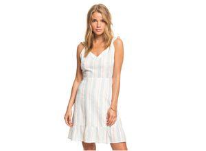 Roxy Sommerkleid Sunday With You weiß Damen Freizeitkleider Kleider