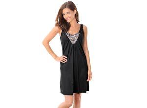 Strandkleid, saraboni schwarz Damen Sommerkleider Kleider Strandkleider