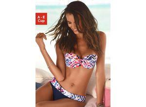Sunseeker Bandeau-Bikini-Top Nany blau Damen Bikini Oberteile Bikinis Damenbademode Bikini-Oberteile