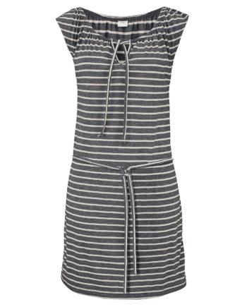 Venice Beach Jerseykleid Sommerkleider weiß/grau Damen Gr. 46