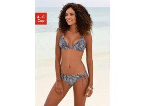 Venice Beach Triangel-Bikini-Top Sugar bunt Damen Bikini Oberteile Bikinis Damenbademode Bikini-Oberteile