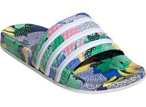 adidas Originals Badesandale ADILETTE W grün Strand- Badeschuhe Unisex