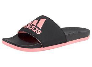 adidas Performance Badesandale Adilette Comfort schwarz Strand- Badeschuhe Unisex
