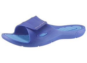aquafeel Badepantolette POOL SHOE blau Damen Pantoletten Hausschuhe Badeschuhe
