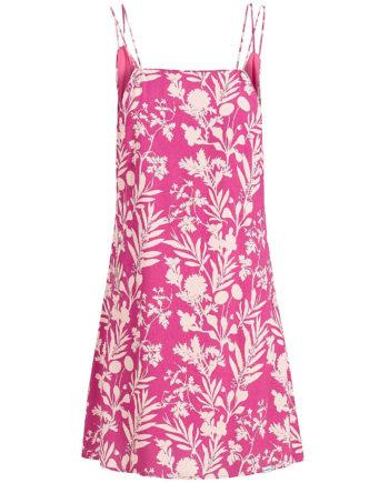 khujo Kleid LEBONA Sommerkleider rosa Damen Gr. 36