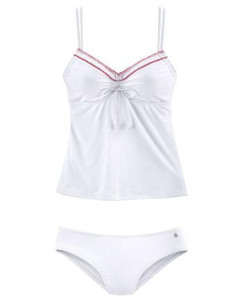s.Oliver Beachwear Bügel-Tankini Bikinis weiß Damen Gr. 40D