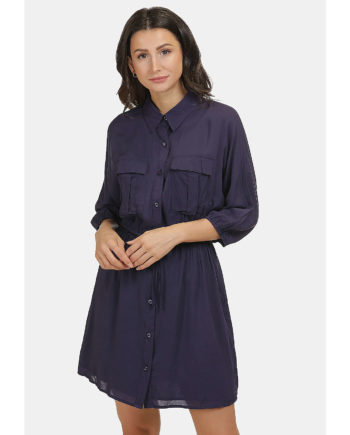 usha BLUE LABEL Kleid Sommerkleider blau Damen Gr. 38