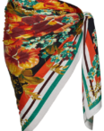 Hawaii Pareo | Orange Bloom - One Size